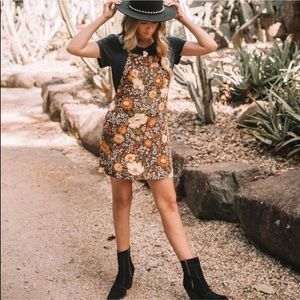 Spell & The Gypsy Desert Daisy Mini Dress Floral